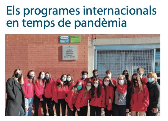 Els programes internacionals en temps de pandèmia